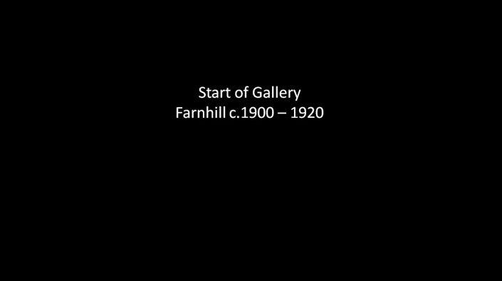 Start of Farnhill 1900 to 1920