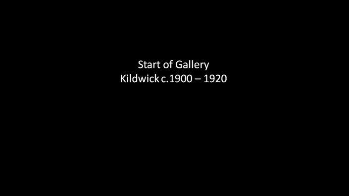 Start of Kildwick c1900 to 1920