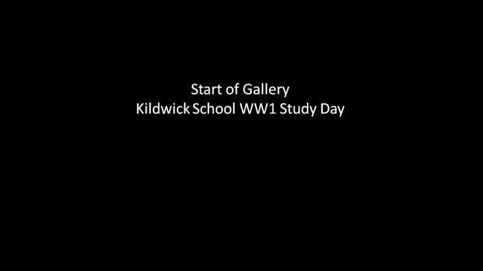 Start of Kildwick School WW1 Study Day