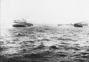 HMHS Anglia sinking