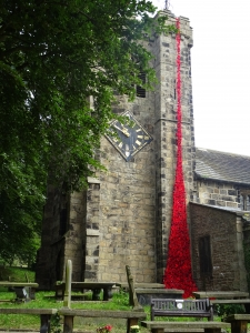 Kildwick poppy display 2018