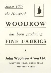 Woodrow's advertisement