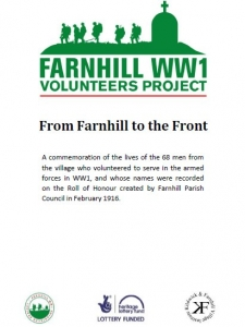 From Farnhill to the Front - booklet