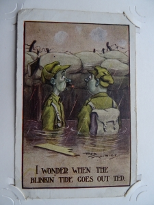 Percy Walmsley's WW1 postcard album - #103