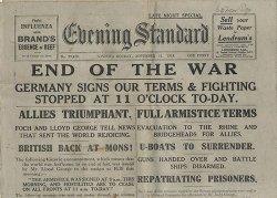 Evening Standard - 11/11/1918